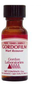 Gordofilm Wart treatment